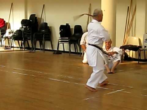 Nishime Sensei Yamanni-ryu Kobudo kata