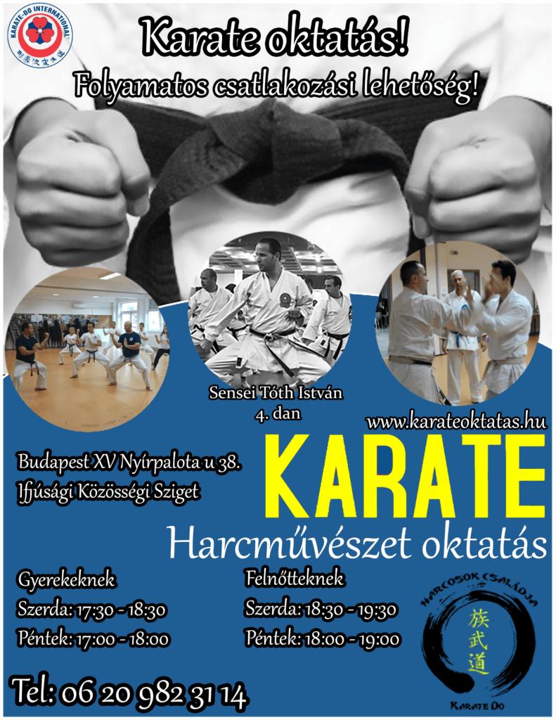15. kerület karate
