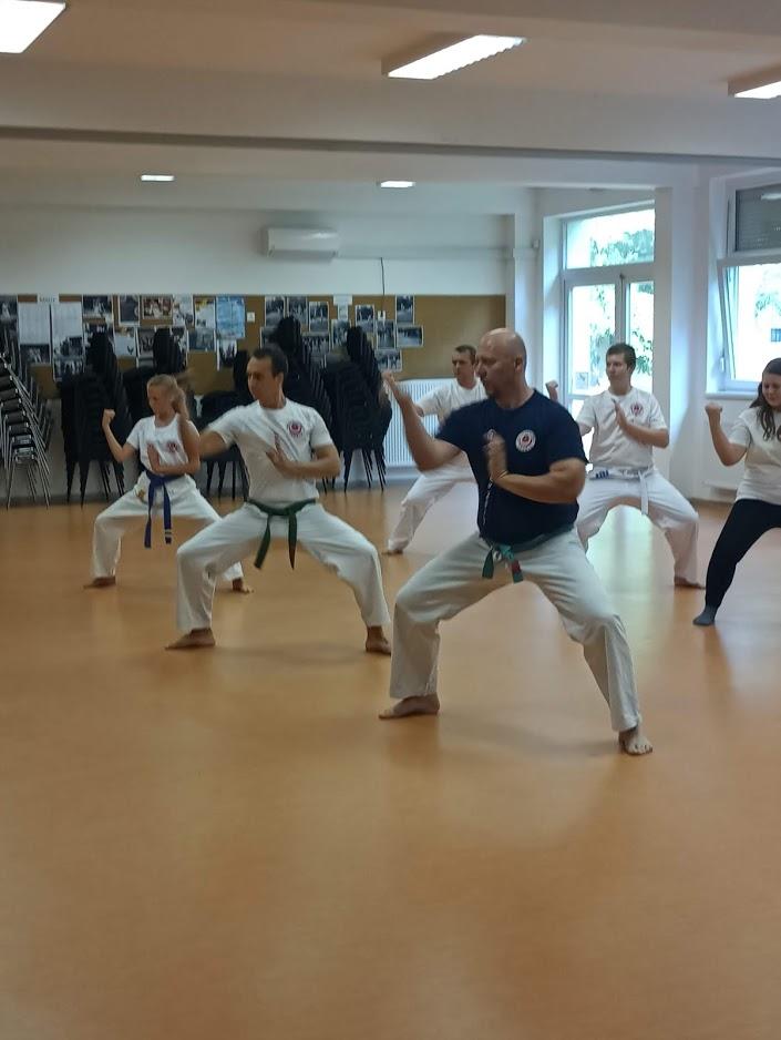 Karate oktatás - Harcművészet oktatás 1