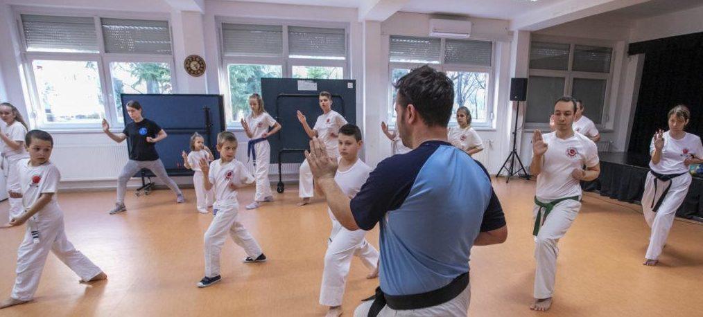 karate és gyenge látás