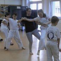 Slow motion – karate