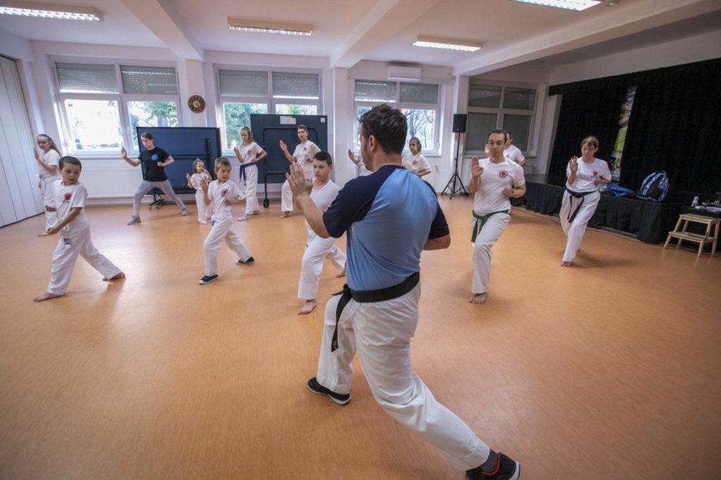 Karate edzés Budapest XV kerület