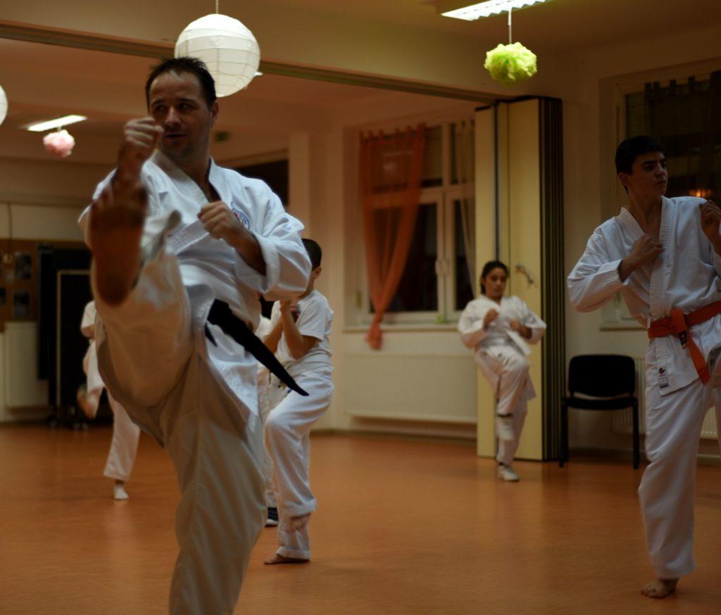 Karate oktatás Budapest XV kerület - Havi bérlet