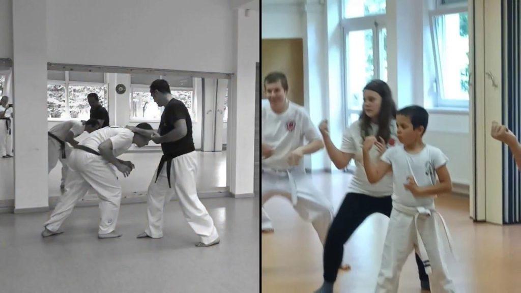 Karate edzés pillanatok 2018 Kikötő